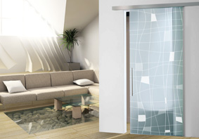 fittings and systems for sliding glass partition doors