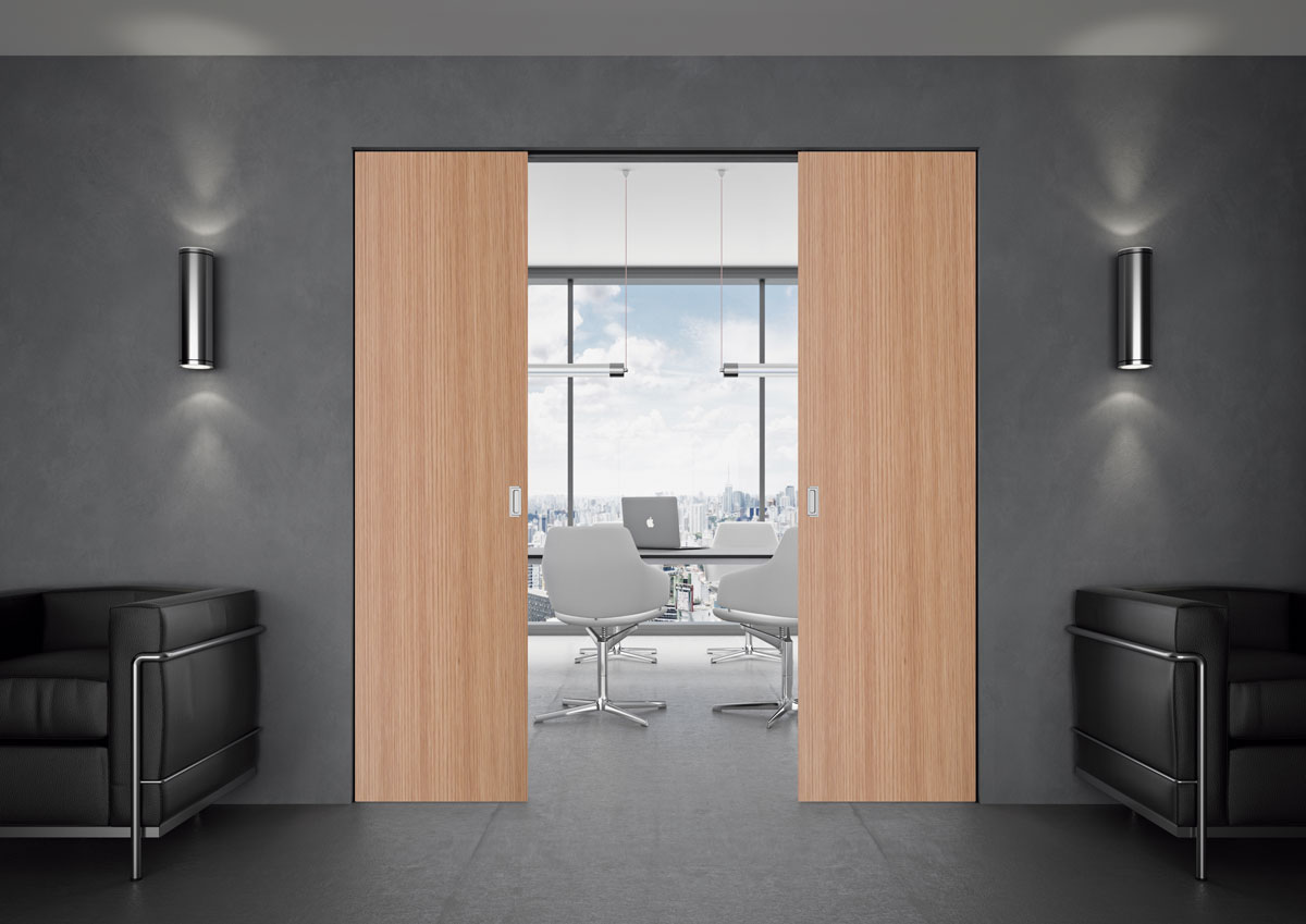 Herrajes puertas correderas Imagen 1 BK-10 kit puertas correderas