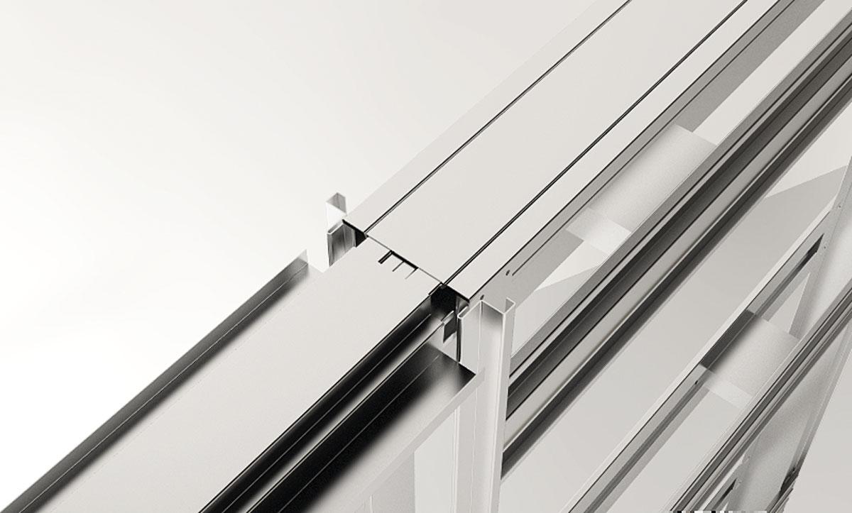 Imagen 5 BK-20 kit puertas correderas armarios