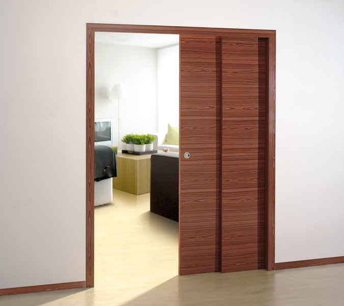 kits and prefabricated structures for sliding doors